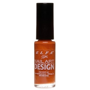 Elfa Nail Art Design - Brown 0.25 oz. (520086)