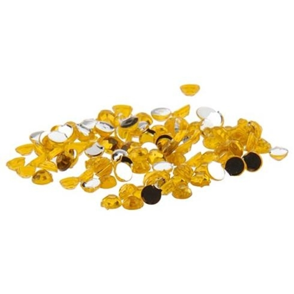 Nail Art Rhinestone - Gold 100-Count (520094)