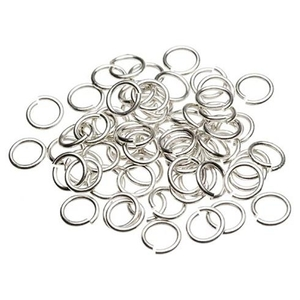 Nail Ring - Silver 100-Count (520109)