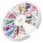 Nail Art Rhinestone Kit - Tear Drop Shape 1200-Count (520149)