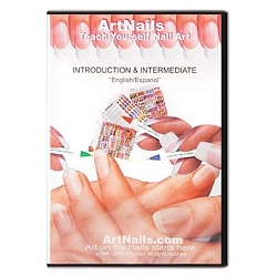 Vrush-Pen Teach Yourself ArtNails DVD (520177)