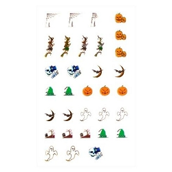 Holiday Series Nail Art Decal Halloween #3 (520184)