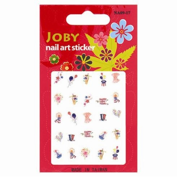 Joby New Year Nail Sticker - Each (520216)