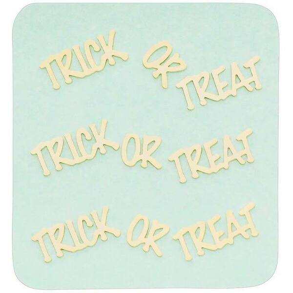 Japanese 3D Nail Charms - Golden Halloween Trick or Treat - Each (520413)