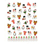 Nail Art Stickers - Christmas #5 - Each (520462)