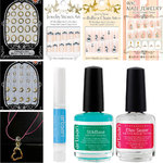 Artisan Kawaii Japanese Nail Art Kit - 3D Nail Art Designs - Set of 9 pcs (520480)