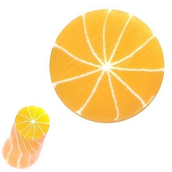 Fimo Polymer Clay Cane Nail Art CC - Peeled Orange (520900)