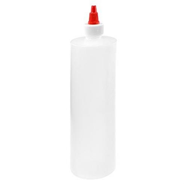 Empty Natural Plastic Bottle - 16 oz. (610010)