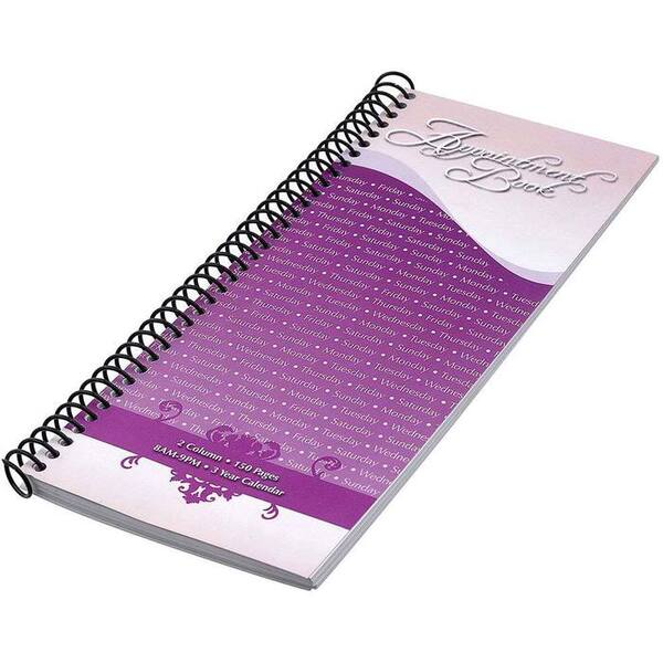 2 Column Salon Appointment Book - Keeps You Organized - Each (610029)