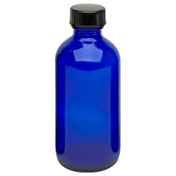 Cobalt Glass Bottle - Dispensor 4 oz. (610093)