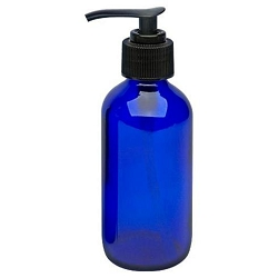 Cobalt Glass Bottle - Spray 4 oz. (610095)