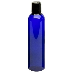 Cobalt Plastic Bottle - Dispensor 8 oz (610107)