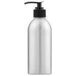 Lotion Pump Aluminum Bottle 8 oz. (610147)