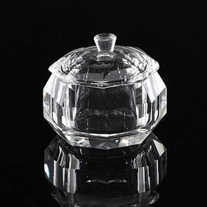Crystal Glass Containers - Large (610154)