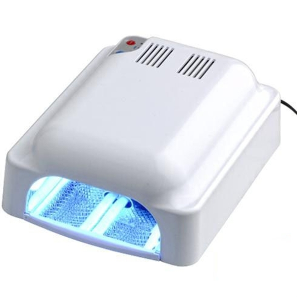Turbo Jet 36W UV Gel Light With Built In Dryer Fan - Each (720069)