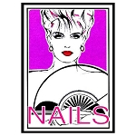 "Salon Window Decoration Decal - 36""x48"" (730029)"