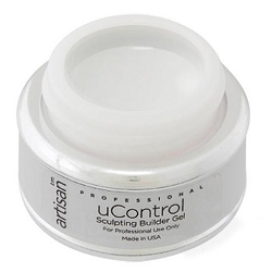 uControl White Builder Gel - 0.25 oz. 7.39 mL. (980046)