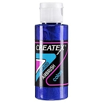 Createx Airbrush Paint - Irid. Electric Blue 2 oz. (C5505)