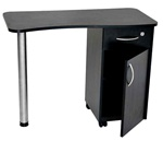 Jazz Brooklyn Nail Table with Lamp & Padded Rest (860124)