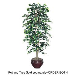 Artificial Ficus Tree 6-ft. Overall Height (NUDT7781)