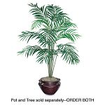 Artificial Areca Palm Tree 6-ft. Overall Height (NUDT7786)