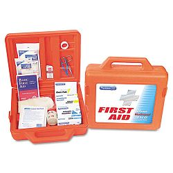 First Aid Kit for 50 People 173 Pieces OSHAANSI Compliant Plastic Case (ACM13200)
