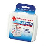 Mini First Aid To Go Kit 12 Pieces Plastic Case (JOJ8295)