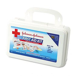ProfessionalOffice First Aid Kit for 10 People 98 Pieces Plastic Case (JOJ8140)
