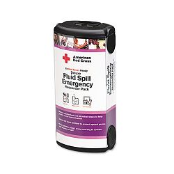 Deluxe Fluid Spill Emergency Responder Pack 20 Pieces Plastic Case (FAORC655)