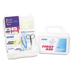 First Aid Kit for Up to 25 People 113 Pieces Plastic Case (ACM25001)