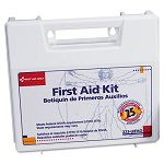 Bulk First Aid Kit for 25 People 106 Pieces OSHA Compliant Plastic Case (FAO223U)