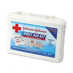 ProfessionalOffice First Aid Kit for 25 People 158 Pieces Plastic Case (JOJ8142)