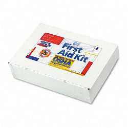 First Aid Kit for 25 People 106 Pieces OSHA Compliant Metal Case (FAO224U)