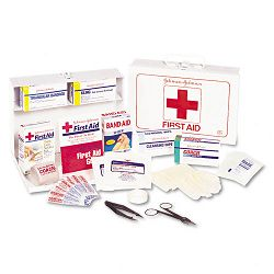 Nonmedicinal First Aid Kit for 25 People 87 Pieces Metal Case (JOJ8161)