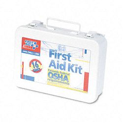 Unitized First Aid Kit for 16 People 94 Pieces OSHAANSI Metal Case (FAO241AN)