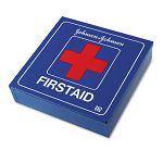 Industrial First Aid Kit for 50 People 225 Pieces White Metal Case (JOJ8162)