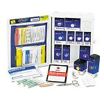 Medium First Aid Kit 112 Pieces OSHA Compliant Metal Case (FAO1050)