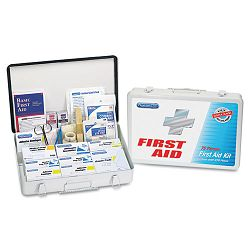 OfficeWarehouse First Aid Station for Up to 75 People 419 Pieces OSHAANSI (ACM90018)
