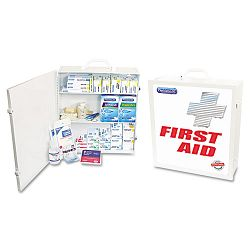 First Aid Kit for 100 People 694 Pieces OSHAANSI Compliant Metal Case (ACM50000)