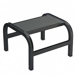 Pal Aluminum Step Stool 14w x 14d x 9h Black (CRA201192)