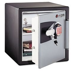 Electronic Safe 1.2 ft3 16-1132w x 19-516d x 17-2732h BlackGunmetal Gray (SENOA3821)