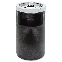 Smoking Urn wAshtray and Metal Liner 19.5H x 12.5 Diameter Black 1 Each (RCP258600BLA)