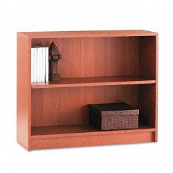 1870 Series Bookcase 2 Shelves 36w x 11-12d x 29-78h Henna Cherry (HON1871J)