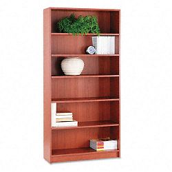 1870 Series Bookcase 6 Shelves 36w x 11-12d x 72-58h Henna Cherry (HON1876J)