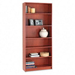 1870 Series Bookcase 6 Shelves 36w x 11-12d x 84h Henna Cherry (HON1877J)