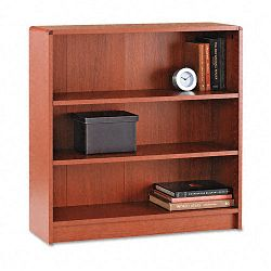 1890 Series Bookcase 3 Shelves 36w x 11-12d x 36-18h Henna Cherry (HON1892J)