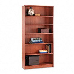 1890 Series Bookcase 6 Shelves 36w x 11-12d x 72-58h Henna Cherry (HON1896J)