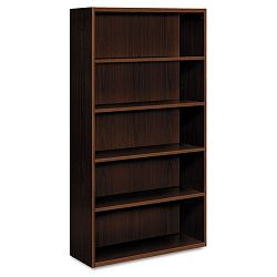 Arrive Wood Veneer Five-Shelf Bookcase 36w x 15d x 71-12h Shaker Cherry (HONVW612XFF)