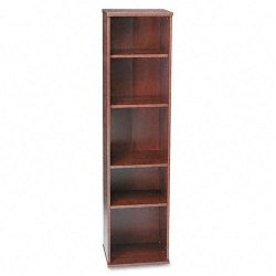 Series C Open Single Bookcase 5-Shelf 17-78w x 15-38d x 72-78h DCY (BSHWC24412)