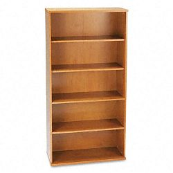 Series C Open Double Bookcase 5 Shelves 35-58w x 15-38d x 72-78h MCY (BSHWC72414)